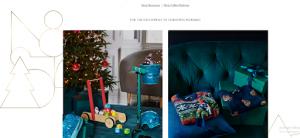 John Lewis Christmas Web Design