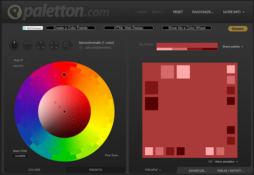 paletton tool