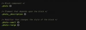 Examples of Block-Element-Modifiers (BEM)