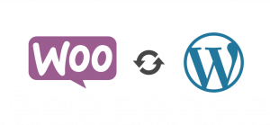 WooCommerce and WordPress Logos